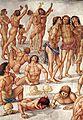 Luca signorelli, cappella di san brizio, resurrezione dei corpi 02.jpg