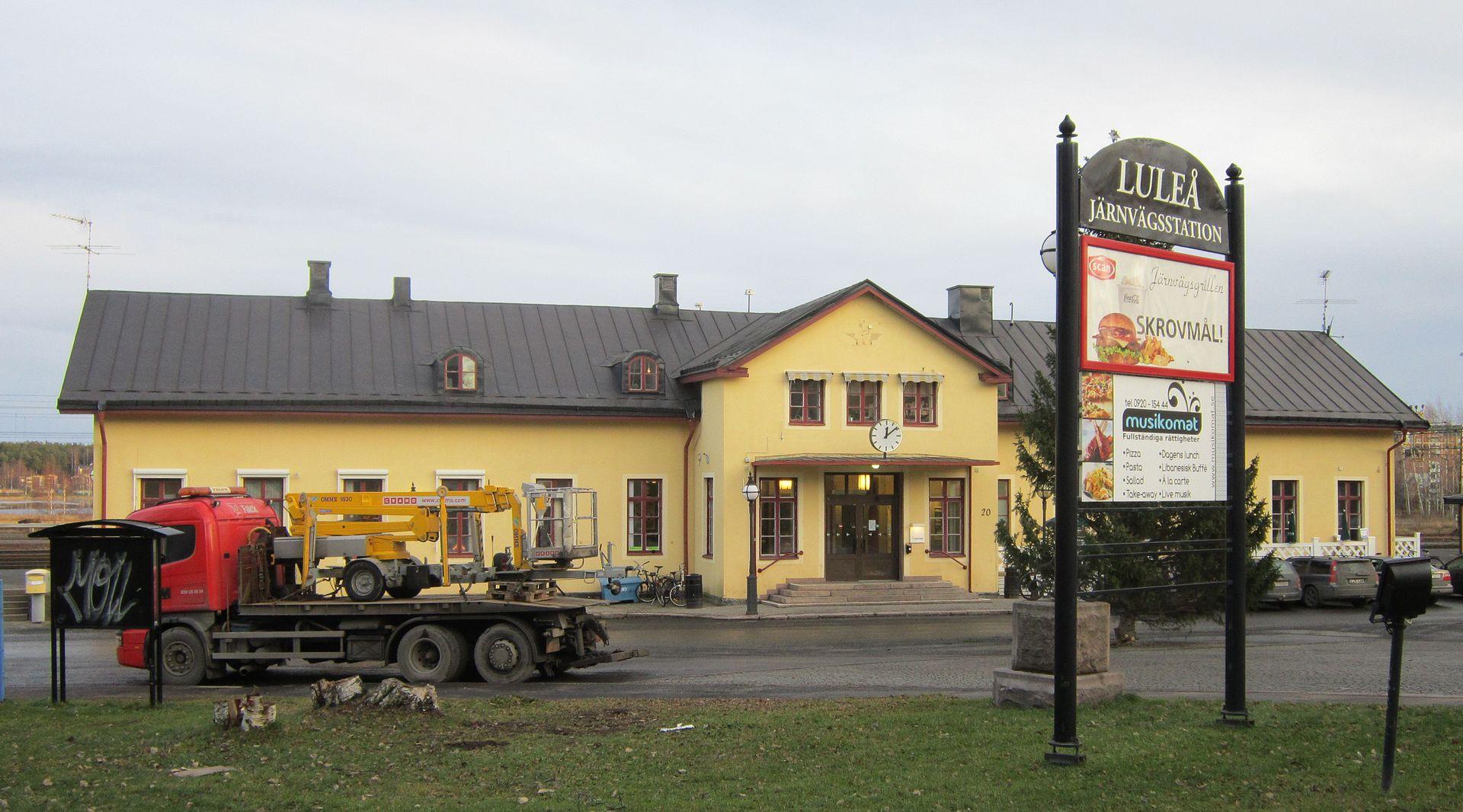 Luleå Central Station - Wikipedia Iron Ore