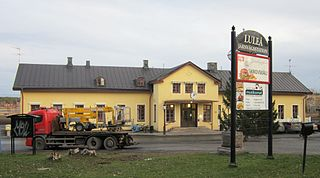 Luleå Central Station railway station in Luleå, Sweden