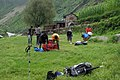 Lusa. The school playground is the best place to camp. - panoramio.jpg