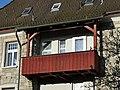Lustenau, Dammstraße 1, Ostseite, Balkon.jpg