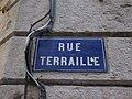Lyon 1er - Rue Terraille - Plaque (fév 2019).jpg