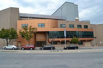 Modell Performing Arts Center - Exterior of venue, c. 2013