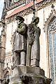 Münster, Brunnen am Lambertikirchplatz -- 2017 -- 9360.jpg