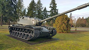 Panzer M103A1 im Fort Lewis Military Museum