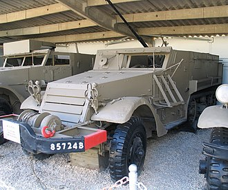 M3 Half-track - An Israeli modified M3 Half-track, armed with a 20 mm cannon