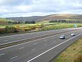 M74 below Bodsberry Hill - geograph.org.uk - 1004386.jpg