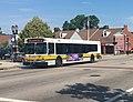 MBTA route 240 bus in Randolph, June 2018.jpg