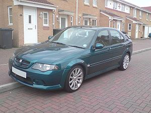 MG ZS - Image: MG ZS mk 2 with full bodykit