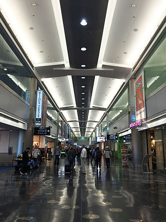 Miami International Airport - Interior view of concourse D