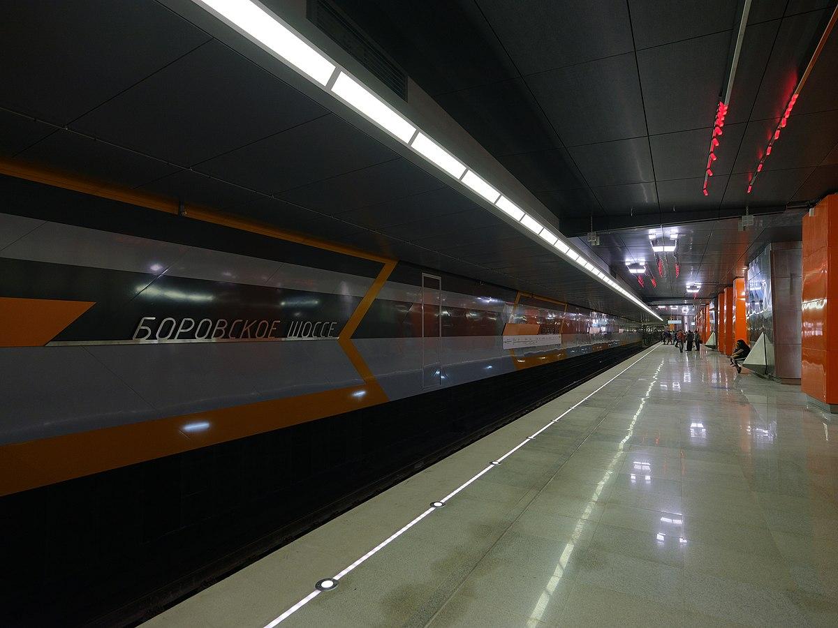Солнцевская линия метро схема фото 413