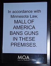 MOA bans guns