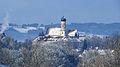 MOD - Schillenberg - Pfarrkirche, Schloss, Raureif 01.JPG