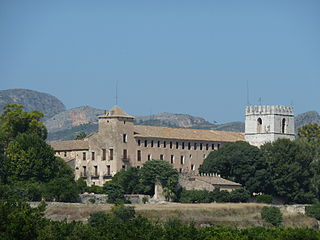 Monastery located in Alfauir (Valencia), Spain