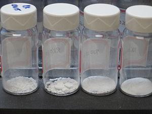 Molecular sieve - Vials of mesoporous silica