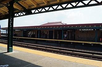 207th Street (IRT Broadway–Seventh Avenue Line) - Station platforms