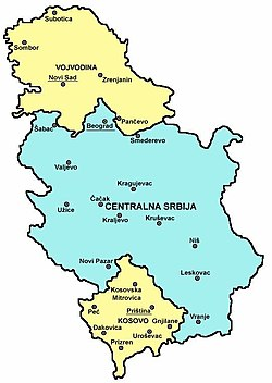 Centralna Srbija Wikipedia