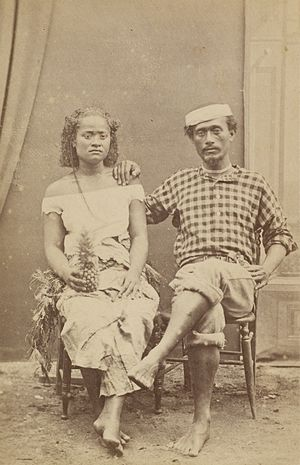 Enele Maʻafu - His son Siale'ataongo, called Charles Maʻafu, on the right next to his cousin Adi Tupoutuʻa.