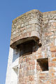 Machicolation at Grève de Lecq Tower.JPG