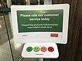Machine pour indiquer sa satisfaction - aéroport Zvartnots.JPG