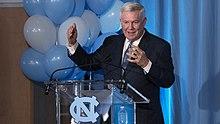 Bill Sutherland North Carolina Tar Heels Jordan Football Jersey - Navy