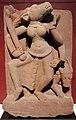 Madhya pradesh o rajasthan, dea madre varahi che danza con la mazza e il toro, ix.x secolo.jpg