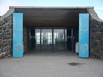 North Cape (Norway) - Image: Mageröya Nordkaphalle