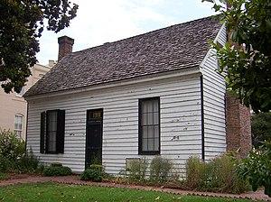 Magevney House - Image: Magevney House Memphis TN 4