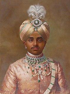 Krishna Raja Wadiyar IV Maharaja of Mysore