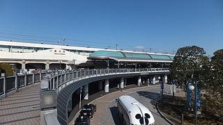 Maihama Station Railway station in Urayasu, Chiba Prefecture, Japan