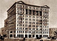 The Silver Center circa 1900