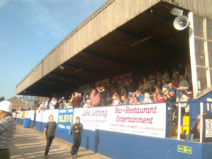 Lowestoft Town F.C. - The Main Stand at Crown Meadow