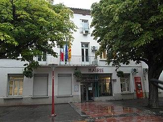 Saint-Estève - The town hall in Saint-Estève