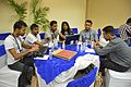 Maithili and Nepali Wikimedia Community - Accessing Offline Wikipedia In Rural Area - Talk Session - Wiki Conference India - CGC - Mohali 2016-08-05 7009.JPG