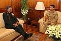 Maj. Gen. Abu Belal Muhammad Shafiul Huq, NDC, PSC, Military Secretary, Bangladesh Army, called on the Chief of Army Staff, Gen. V.K. Singh, in New Delhi on November 30, 2010.jpg