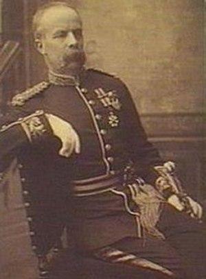 Major Downes - Downes in 1890