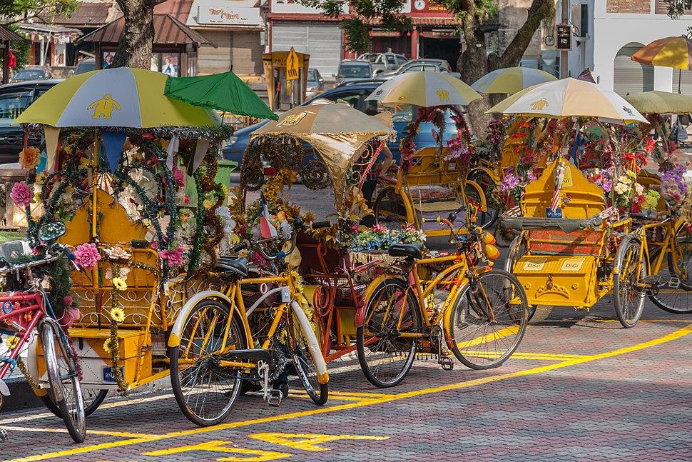 Malacca Malaysia Colourful-bicycles-01