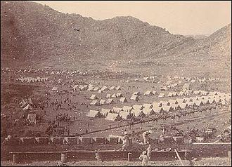 Siege of Malakand - Image: Malakand camp south