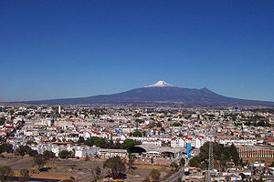 Malinche (volcano) - La Malinche as seen from Puebla