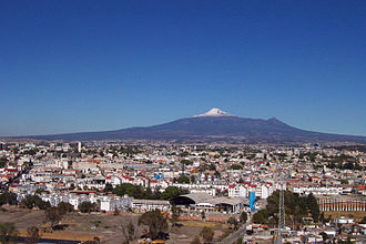 Tlaxcala - View of the La Malinche volcano