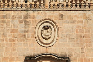 San Anton Palace - Coat of arms of Antoine de Paule at the palace