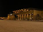 Malta Luqa Airport terminal at night.jpg