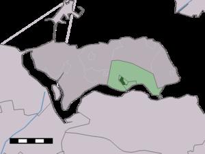 Kortgene - Image: Map NL Noord Beveland Kortgene