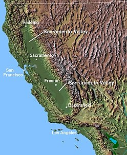 The Central Valley of California