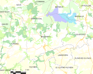 Map commune FR insee code 29016.png