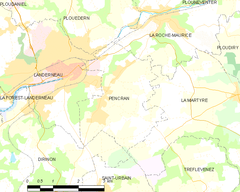 Map commune FR insee code 29156.png