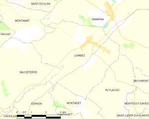 Lombez - Lombez and its surrounding communes