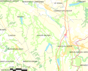 Map commune FR insee code 40091.png