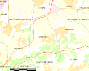 Map commune FR insee code 69281.png