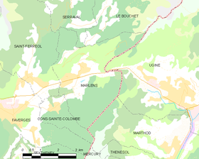 Map commune FR insee code 74167.png